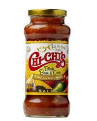 Chi-Chi's Thick & Chunky Black Bean and Corn Salsa - 16 oz