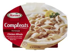 Hormel Compleats Homestyle Chicken Alfredo - 10-oz Microwave Bowl