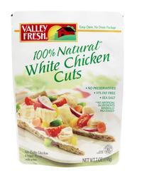 Valley Fresh White Chicken Cuts - 7 oz