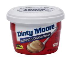Dinty Moore Scalloped Potatoes with Ham - 7.5-oz Microwave Cup