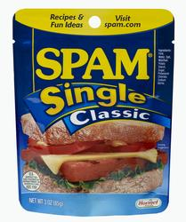 SPAM Single Classic Luncheon Meat - 3 oz