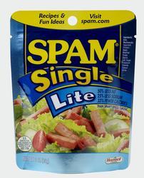 SPAM Singles Lite Luncheon Meat - 3 oz