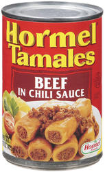 Hormel Beef Tamales in Chili Sauce - 15 oz