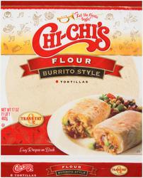 Chi-Chi's Flour Burrito Style Tortillas - 8-ct