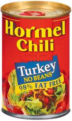 Hormel Turkey Chili with No Beans - 15 oz