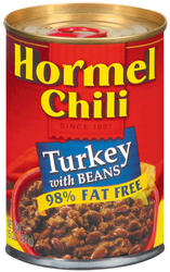 Hormel Turkey Chili with Beans - 15 oz