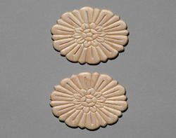 "3-1/8"" Round Birch Accents Moulding (Set of 2)"