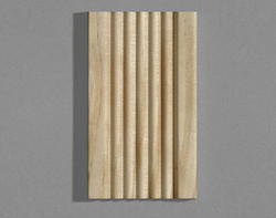 """7/16"""" x 2-1/4"""" x 7' Pine Fluted Casing"""