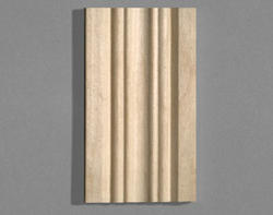 "7/16"" x 2-1/4"" x 7' Hardwood Fluted Casing"