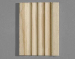 "7/16"" x 3"" x 7' Pine Fluted Casing"