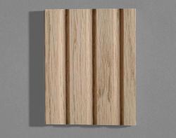 """3/4"""" x 3-1/4"""" Oak Reverse Flute Moulding"""