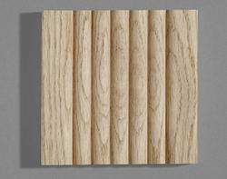 """3/4"""" x 4"""" x 7' Ribbed Oak Fluted Casing"""