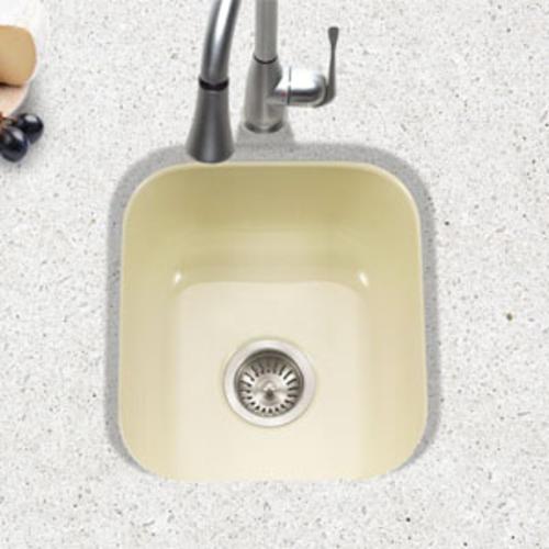 Porcelain Enameled Steel Undermount Square Bar Sink At Menards