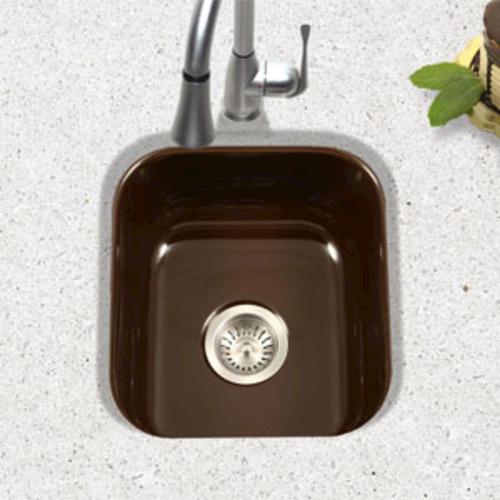 Porcelain Bar Sink : Porcelain Enameled Steel Undermount Square Bar Sink at Menards?