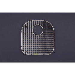"WireCraft® stainless steel bottom grid, 15.75""x16.5"""