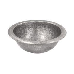 "Hammerwerks® Copper Topmount Lavatory Bowl, 6.5""deep"