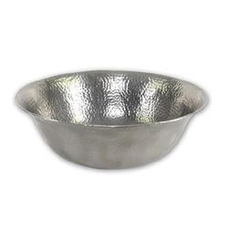 "Hammerwerks® Copper topmount lavatory bowl, 7""deep"