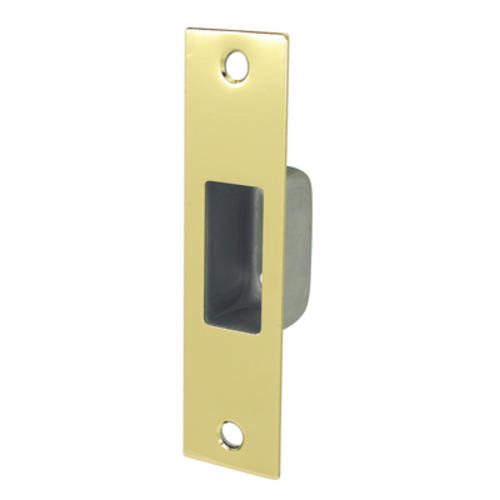 Steel Replacement Lockset Strike Plate And Box At Menards