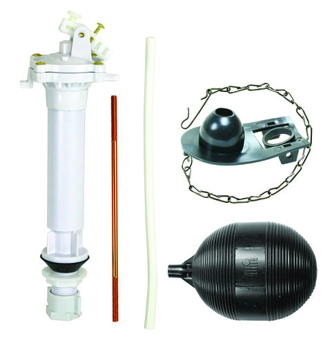 Plumb Works Adjustable Anti Siphon Toilet Tank Repair Kit Includes Fill Valv