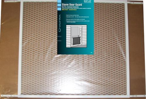 screen door grille guard menards 3