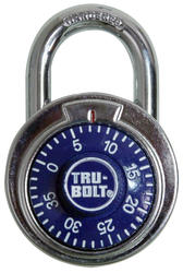 "2"" 3-Digit Stainless Steel Combination Padlock"