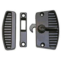 Black Sliding Patio Screen Door Lock