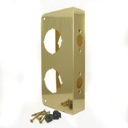 """9"""" Antique Brass Combo Door Protector"""