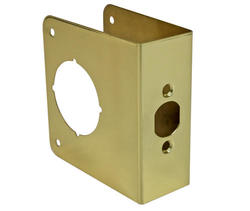 "4-1/2"" Polished Brass Door Protector"