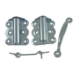 Zinc-Plated Spring Hinge Set