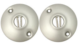 Satin Nickel Door Rosettes