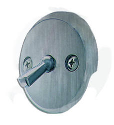 Plumb Works Satin Nickel Overflow Faceplate with Lever