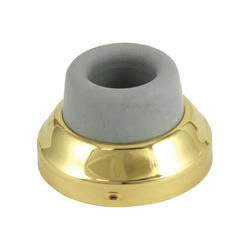 Polished Brass Wall Mount Door Bumper