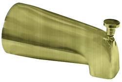Plumb Works Antique Brass Universal Diverter Spout