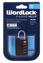 WordLock® Luggage Lock