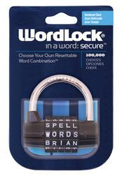 WordLock® 5-Dial Padlock