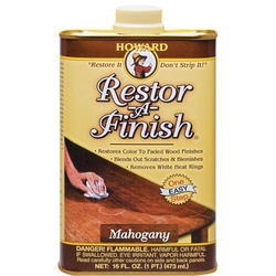 Howard Restor-A-Finish Mahogany Wood Finish Restorer - 1 pt.