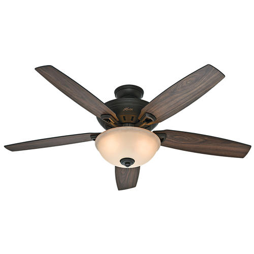 "Hunter Grandview ShineBrite 56"" New Bronze Ceiling Fan At"