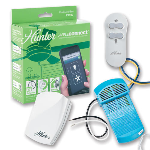 Hunter Simpleconnect Programmable Fan Control At Menards 174