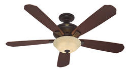 "Hunter Grant Park 60"" New Bronze Ceiling Fan"