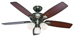 "Hunter Conway 52"" Antique Pewter Ceiling Fan"