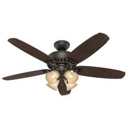 """Hunter Allendale 52"""" New Bronze Ceiling Fan"""