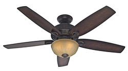 """Hunter Mainstone 52"""" Tahoe Bronze Ceiling Fan"""