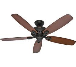 """Hunter Markham 52"""" New Bronze Ceiling Fan"""