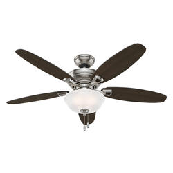 "Hunter Rayburn 52"" Brushed Nickel LED Ceiling Fan"