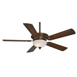 "Casablanca Whitman 54"" Bronze Patina Ceiling Fan"