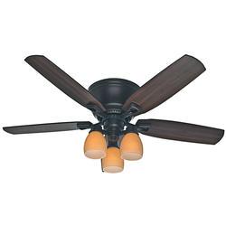 "Hunter Macallan 52"" New Bronze Ceiling Fan"