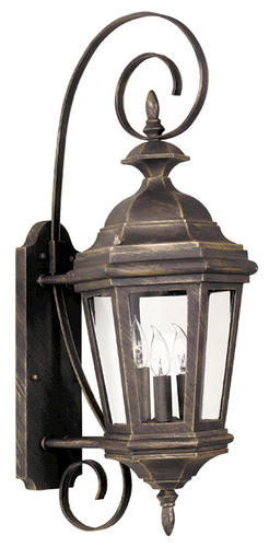 Estate Medium Outdoor Wall Lantern Replacement Glass for 16313AP at Menards