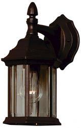 5-IN-1, 1 Light Black Wall Lantern