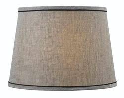 """15"""" Silver Tapered Drum Shade"""
