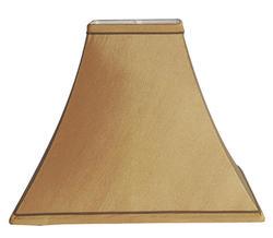 "14"" Cinnamon Flared Square Lamp Shade"